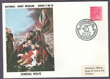 General Wolfe Death Anniversary pictorial BFPS postmark GB Cover 1971
