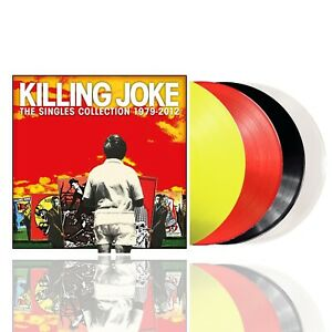 Killing Joke - The Singles Collection 1979-2012 - Yellow/Red/Black/ Clear Vinyl