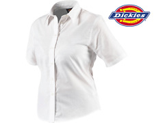 Dickies Ladies Short Sleeve Oxford Shirt, Embroidery Printed Work SH64350