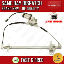 FOR NISSAN TERRANO MK2 193>ON FRONT LEFT WINDOW REGULATOR WITH MOTOR 807010F010