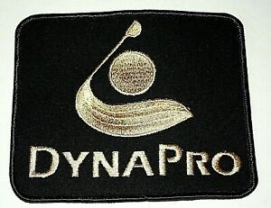 Vintage Dynapro Golf Clubs Golfing Jacket Patch NOS New 1970s
