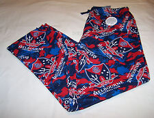 Melbourne Demons Logo AFL Mens Camo Printed Flannel Sleep Pants Size S New