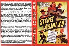 SECRET AGENT X-9 (1945) Cliffhanger Chapter Serial