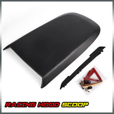 Front Racing Style Air Vent Hood Scoop For 2005-2009 Ford Mustang GT V8 Black