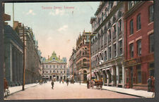 Canada 1909 post card Toronto Street Toronto to Miss Ada Decker Williamson NY