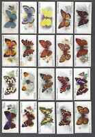 1932 John Player Butterflies Tobacco Cards Complete Set of 50