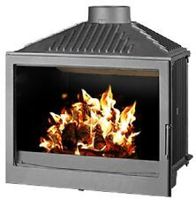 Wood Burning Stove Insert Inset Log Burner Built In Solid Fuel 11-20 kW BImSchV2