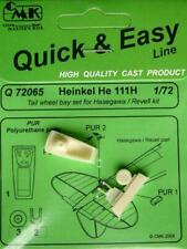 CMK 1:72 Heinkel He-111 H Tail Wheel Bay for Hasegawa Revell Detail Set #Q72065