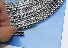 4 Metre Chrome black Car Door Edge Guard Protector Moulding Trim Molding Strip N