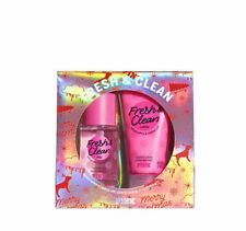 Victoria's Secret PINK Fresh & Clean Mini Body Mist & Lotion 2pc Gift Set