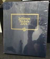 New Whitman Classic Jefferson Nickels 2004 - Album          ENN COINS