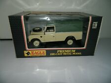 RARE 1:18 Land Rover Serie III 109 Hard Top Green Tan