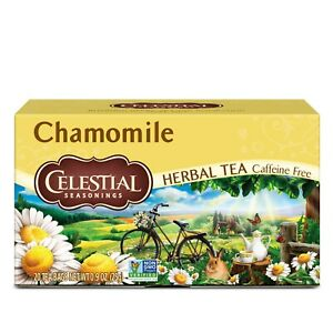 Celestial Seasonings Natural Herbal Tea, Chamomile 20 ea
