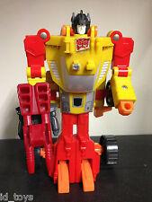 Transformers G1 Vintage Sureshot & Aguafiestas Completo
