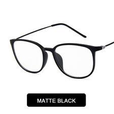 Women Round Glasses Myopia Eyeglasses Fames Optical Prescription Plain Mirror