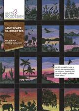 Landscape Silhouettes Anita Goodesign Embroidery Machine Design CD