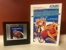 TESTED Atari 5200 KANGAROO Game Cartridge w/manual