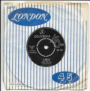 """Gerry And The Pacemakers - I Like It - UK 7"""" - DB 7041 - 1963"""