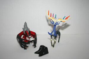 Pokemon Legendary Xerneas Yveltal Figure Lot