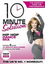10 Minute Solution KEEP FIT Hip Hop Dance Mix Home workouts Sport DVD New