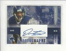 2003 UD Finite Reche Caldwell AUTOGRAPH Chargers /261