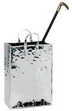 portaombrelli in acciaio inox a forma di borsetta e portabastoni  H  tot cm 59