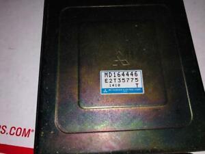 1992 1993 Mitsubishi Diamante Engine Control Unit ECU MD164446 Module