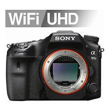 "Sony Alpha A99II Digital SLR Camera 42.4MP 3"" LCD Only Body Full Frame Image"