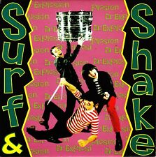 "7"" DOCTOR EXPLOSION surf & shake / smile now 45 SPANISH 1995 GARAGE mod"