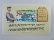 1984 Solomon Islands SC  #534 FIRST PARTICIPATION IN OLYMPIC GAMES MNH SS