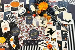 Darling October 31 Halloween Mega Lot-junk journaling, card making, scrapbooking