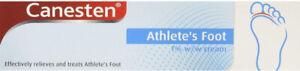 Canesten Athlete's Foot Dual Action Cream 15g