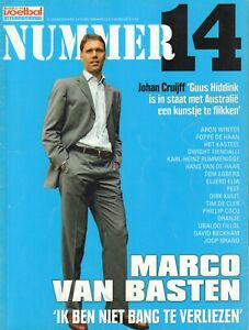 NUMMER 14 2006 nr. 05  - MARCO VAN BASTEN/PELE/FILLOL/DAVID BECKHAM/JOOP BRAND