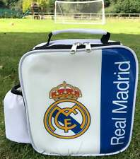 Real Madrid F.C. Vertical Sac à Lunch/Boîte avec Isolé Bouteille Poche | Lunchbox