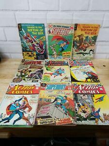 Lot of 27 Vintage Comic Books Super Man, X-Men Justice league & Many more