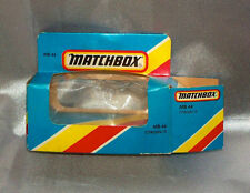 Matchbox 1981 Citroen 15 #MB44 Empty Box