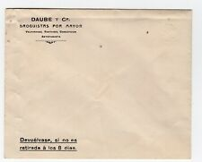"""Chile 1907-10 Stationery Colon Columbus X-rare ERROR """"ALBINO"""" UNUSED"""