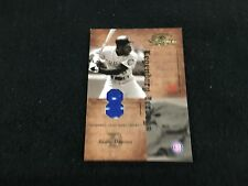 Andre Dawson Cubs 2001 Donruss Classics Legendary Game Used Jersey Card #d 7/25