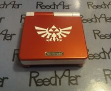 Red & White Zelda GameBoy Advance SP *MINT* AGS-101 Brighter Nintendo System gba