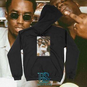 Biggie Notorious BIG Hip Hop Rap Tupac Cotton Sweatshirt Streetwear Hoodie Men's