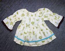 Matilda Jane Toddler Girls Limelight Peasant Top - Size 2 - EUC