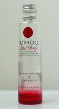 CIROC RED BERRY French Vodka EMPTY MINIATURE BOTTLE - No Contents/Collectible