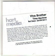 (CH395) Viva Brother, Time Machine - 2011 DJ CD