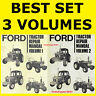 Ford 10 2610 3610 4110 4610 5610 6610 6710 7610 7710 Tractor Service Manuals DVD