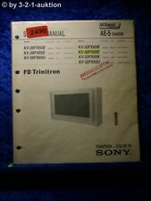 Sony Service Manual KV 28FX65E /B /U / 32FX65E (#2490)