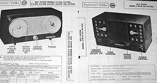Lot 2 Photofact s: RCA Radio 4-C-541 542 543 544 545 547, RC-1145 2-XF-91 1121