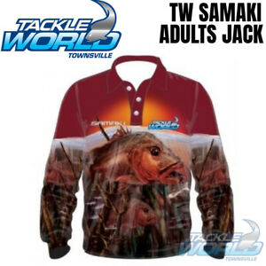 Tackle World Samaki Series 2020 Fishing Shirt Adults Jack BRAND NEW