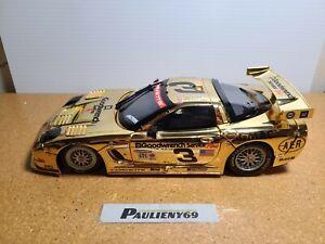 2001 Pilgrim/Dale Sr & Jr #3 GM Goodwrench Gold C5R 1:18 Grand-Am Action No Box