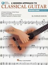 A Modern Approach to Classical Guitar Repertoire Part 1 New 000699205