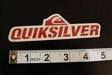 QUIKSILVER Surfboards Island Wave Logo Quicksliver Vintage Surfing Decal STICKER